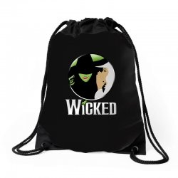 broadway musical wicked Drawstring Bags | Artistshot