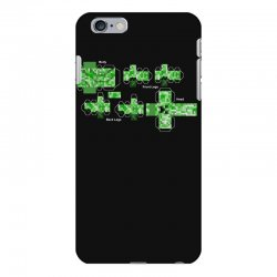 Creeper Template Iphone 6 Plus6s Plus Case By Artistshot