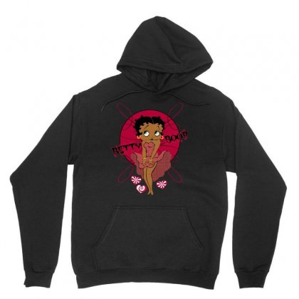 Black Betty Boop Unisex Hoodie Designed By Alextout