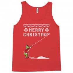 merry christmas grinch ugly sweater for red Tank Top | Artistshot