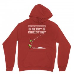 merry christmas grinch ugly sweater for red Unisex Hoodie | Artistshot