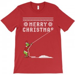 merry christmas grinch ugly sweater for red T-Shirt | Artistshot