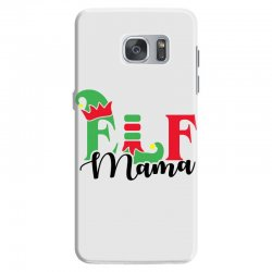elf mama christmas family matching black Samsung Galaxy S7 Case | Artistshot