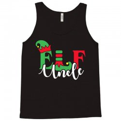 elf uncle christmas family matching Tank Top | Artistshot