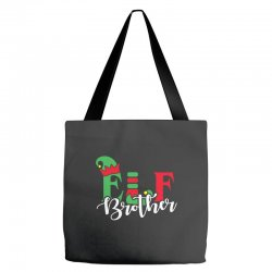 elf brother christmas family matching Tote Bags   Artistshot