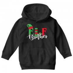 elf brother christmas family matching Youth Hoodie   Artistshot