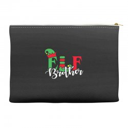 elf brother christmas family matching Accessory Pouches   Artistshot