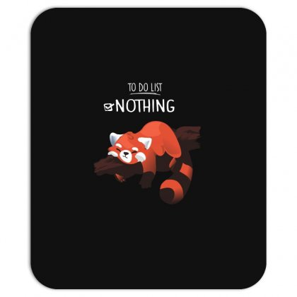 Red Panda Day Mousepad Designed By Wizarts