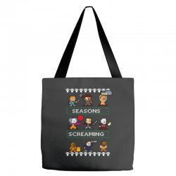 neatoshop seasons screamings ugly christmas Tote Bags | Artistshot