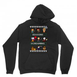 neatoshop seasons screamings ugly christmas Unisex Hoodie | Artistshot