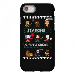 neatoshop seasons screamings ugly christmas iPhone 8 Case | Artistshot
