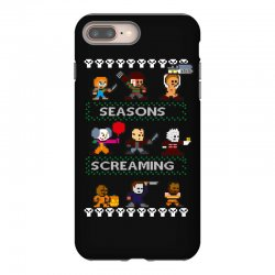 neatoshop seasons screamings ugly christmas iPhone 8 Plus Case | Artistshot