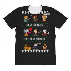 neatoshop seasons screamings ugly christmas All Over Women's T-shirt | Artistshot