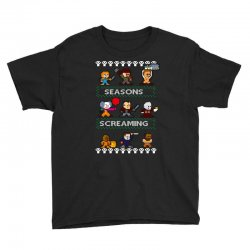 neatoshop seasons screamings ugly christmas Youth Tee | Artistshot
