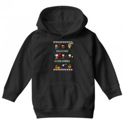 neatoshop seasons screamings ugly christmas Youth Hoodie | Artistshot
