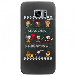 neatoshop seasons screamings ugly christmas Samsung Galaxy S7 Edge Case | Artistshot