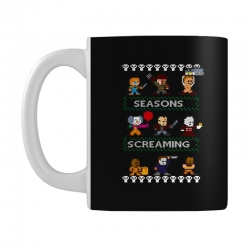 neatoshop seasons screamings ugly christmas Mug | Artistshot