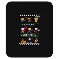 neatoshop seasons screamings ugly christmas Mousepad | Artistshot