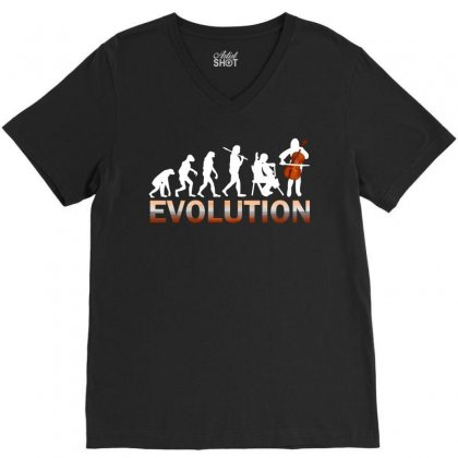 Cello Evolution V-neck Tee Designed By Luisother