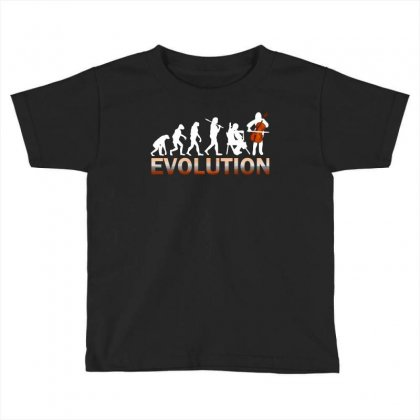 Cello Evolution Toddler T-shirt Designed By Luisother