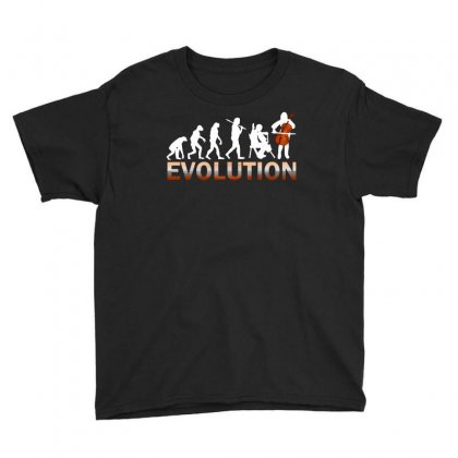 Cello Evolution Youth Tee Designed By Luisother