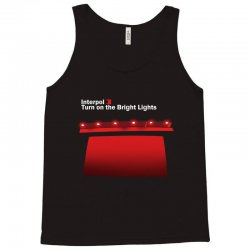 interpol turn on the bright lights Tank Top | Artistshot