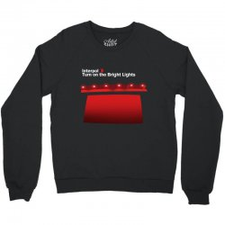 interpol turn on the bright lights Crewneck Sweatshirt | Artistshot