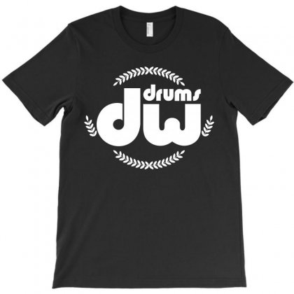 Dw Drums T-shirt Designed By Luisother