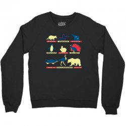 animals of the world limited edition tri blend Crewneck Sweatshirt | Artistshot