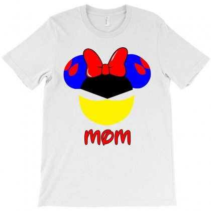 Snowhite Mom T-shirt Designed By Killakam