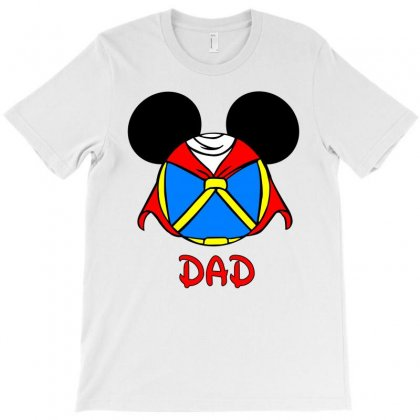 Snowhite Dad T-shirt Designed By Killakam