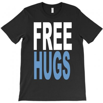 Funny T Shirts Free Hugs Adult T-shirt Designed By Mdk Art