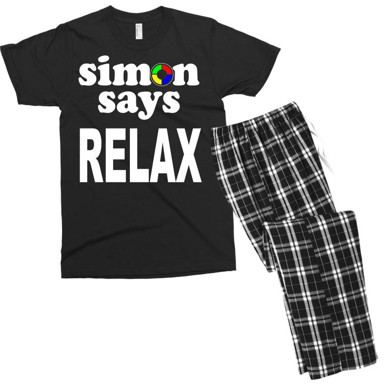 SIMON SAYS RELAX T SHIRT~ To 4XL Funny 80s Mash-Up FRANKIE GOES TO HOLLYWOOD