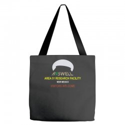 funny alien conspiracy theory roswell area 51 Tote Bags | Artistshot