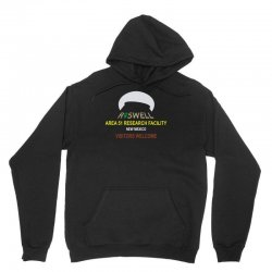 funny alien conspiracy theory roswell area 51 Unisex Hoodie   Artistshot