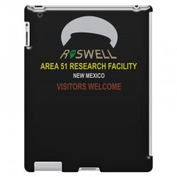 funny alien conspiracy theory roswell area 51 iPad 3 and 4 Case | Artistshot