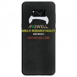 funny alien conspiracy theory roswell area 51 Samsung Galaxy S8 Case | Artistshot