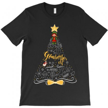 Grandmother Elf T-shirt Designed By Wizarts
