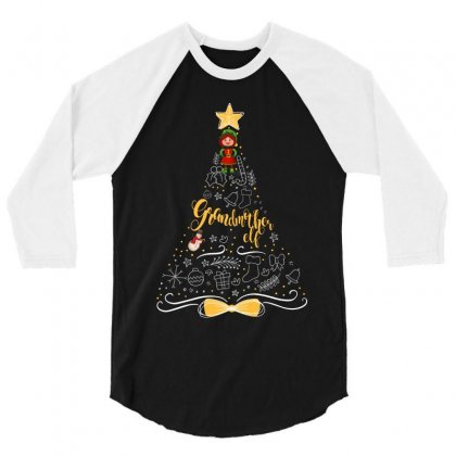 Grandmother Elf 3/4 Sleeve Shirt Designed By Wizarts