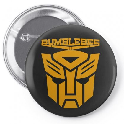 Bumblebee Transformer Pin-back Button Designed By Allentees