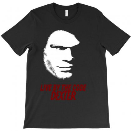 Dexter Live By The Code T-shirt Designed By Allentees