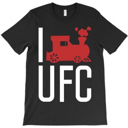 I Train Ufc T-shirt Designed By Allentees