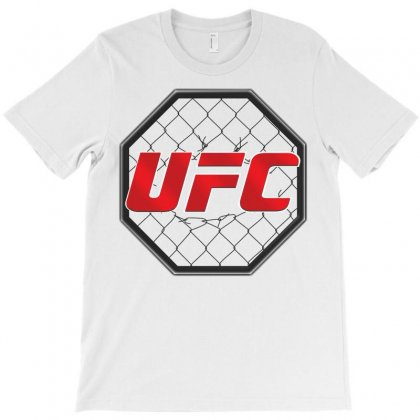 Ufc Cage T-shirt Designed By Allentees
