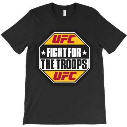 Ufc Fight For Troops T-shirt Designed By Allentees