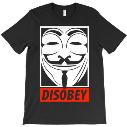 Anonymous Obey T-shirt Designed By Allentees