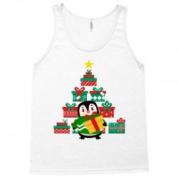 christmas Penguin Tank Top | Artistshot