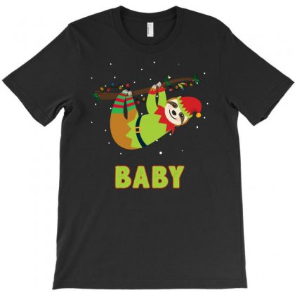Elf Sloth Baby T-shirt Designed By Sengul