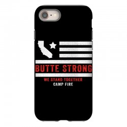 butte strong camp fire iPhone 8 | Artistshot