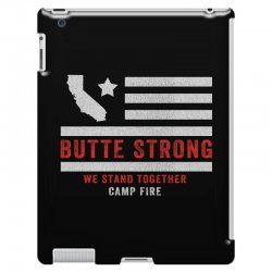 butte strong camp fire iPad 3 and 4 Case | Artistshot