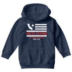butte strong camp fire Youth Hoodie | Artistshot